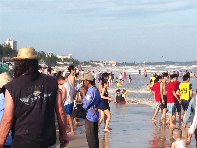 ベトナムの海
